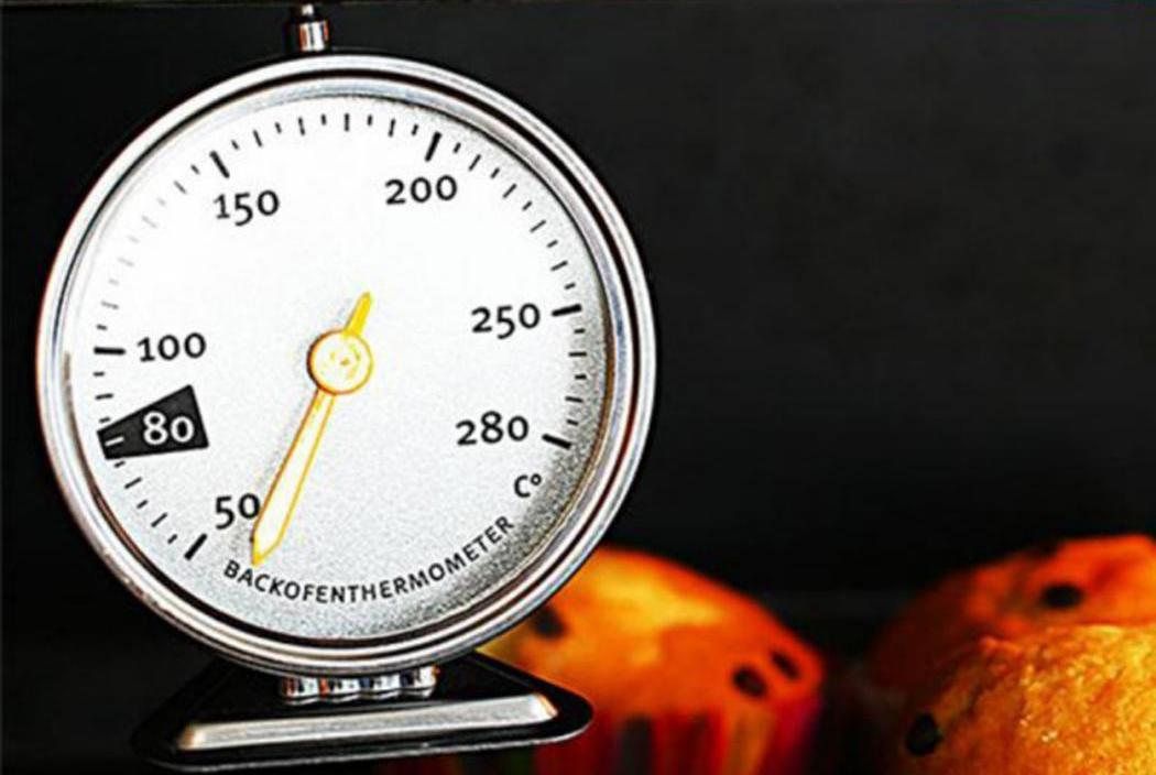 Mini Practical Portable Round Shape Hanging Pointer Home Design 50-280C Oven As Picture Thermometer