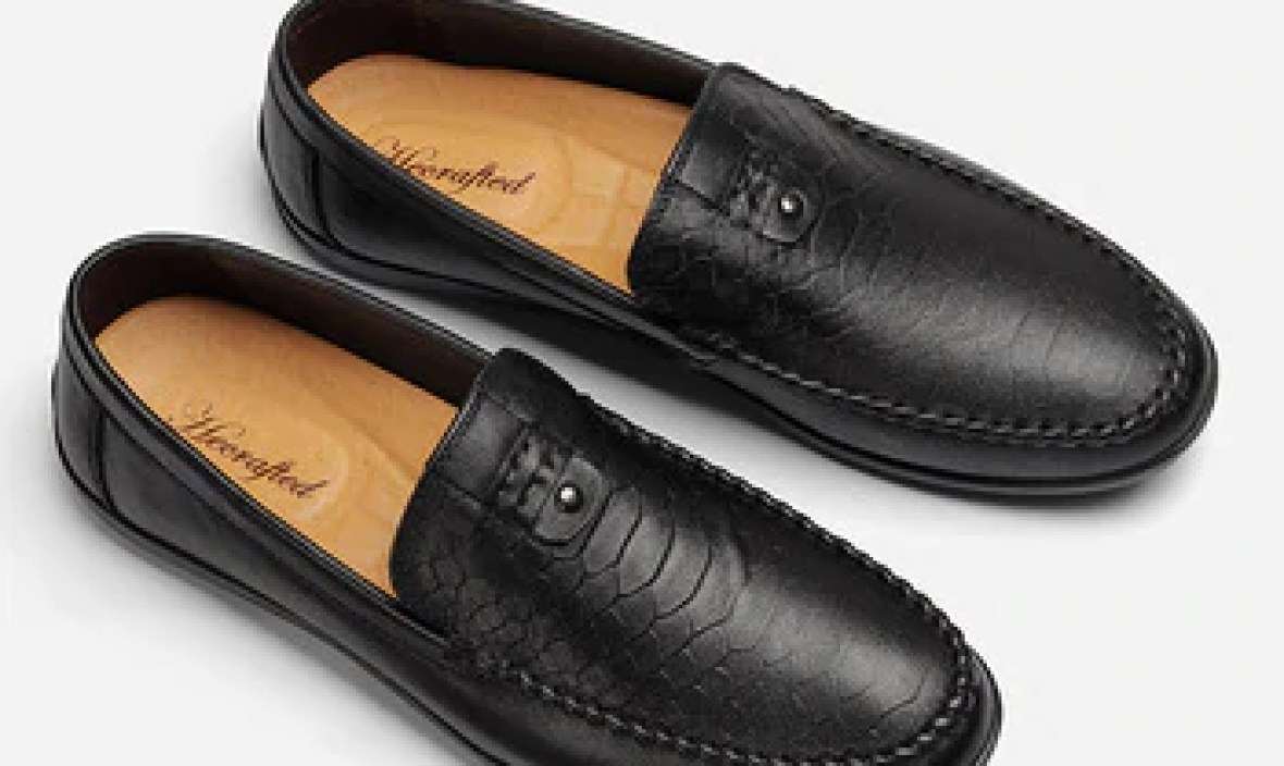 36~47 Male Shoes Leather 2018 New Full Grain Leather Handmade Soft Comforable Leather Men Loafers #BG98182