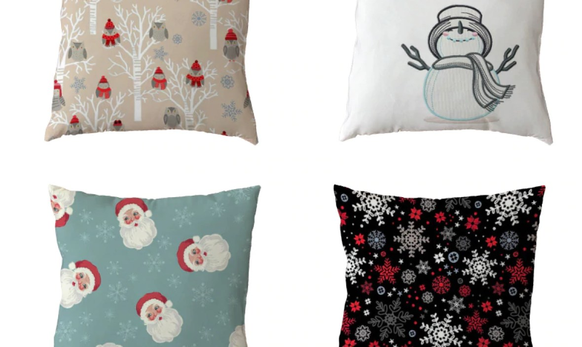 2018New Design Merry Christmas Cushion Cover Deer Snowman Dog Old Red Man Pillowcase Happy New Year Gifts Home Decorative Pillow