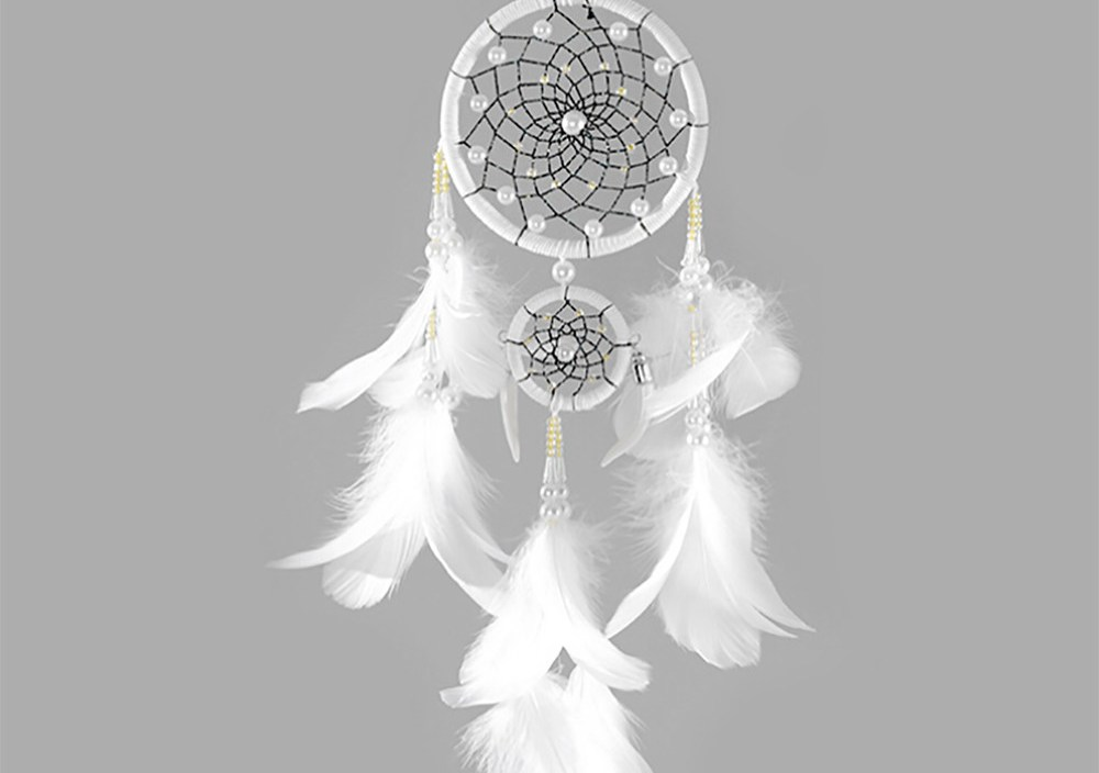 Multi styles Home Design Handmade Dream Catcher With Rattan Bead Feather Wall Car Hanging Decoration Ornament Dreamcatcher 18Sep