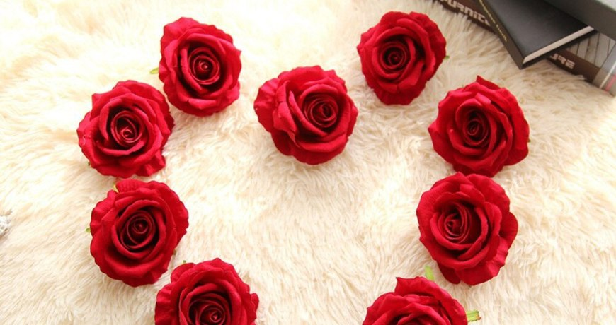 2017 New 5 Head Latex Touch Rose Flowers For wedding Party Home Design Bouquet Decor Wedding Decoration Artificial Flowers New