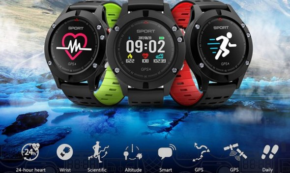 Smart Watch Color Screen GPS Watch Waterproof Band Smart Watch Men Heart Rate Step Sleep Monitoring  Sport Smart Watch for Phone
