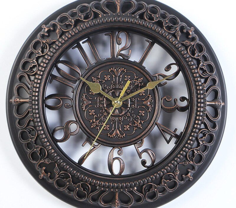 12 Inches Nordic Style Home Decor Wall Clock Vintage Modern Numeral Round Wall Clock Mordern Home Design For Home Wall Clock