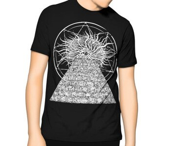 Quality Shirts New StyleTemple Eye – Occult T-shirt S-6XL | XLT – 3XLT Ancient Egyption Plus Size Casual Clothing