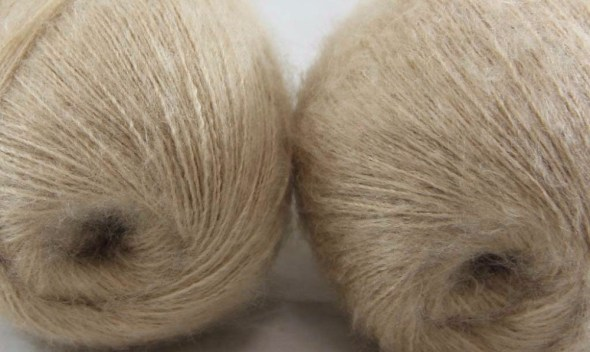 Sale Lot of 2 balls x 50g LACE MOHAIR Cashmere silk hand Yarn Knitting 290-B