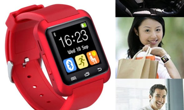 smart watch Bluetooth touch screen Android waterproof sports men and women smart watch  PK DZ09