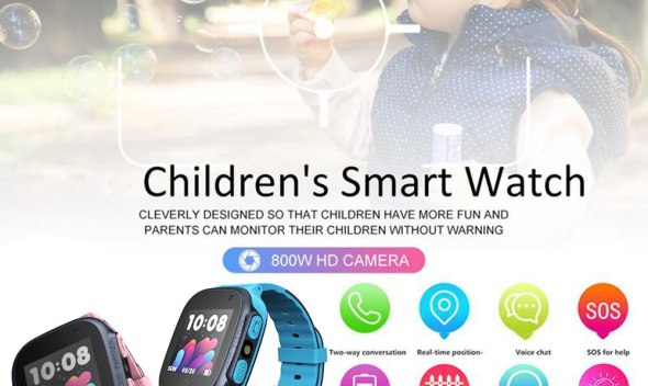 Smart Watch Kid Safe Smart LBS Watch SOS Call Location Finder Tracker Baby Monitor Pedometer Bluetooth Remote Camera Smart Watch