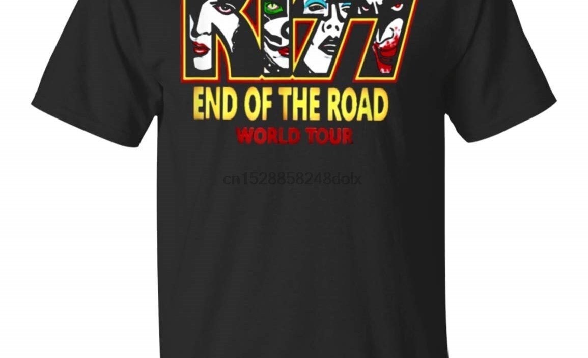 End of The Year Kiss Road Tour 2019 T-Shirt for Men