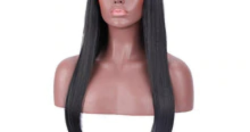 "24"" Long Straight Hair Wigs For Women Synthetic Wigs For Black Women Heat Resistant False Hair Pieces Women Hairstyles"