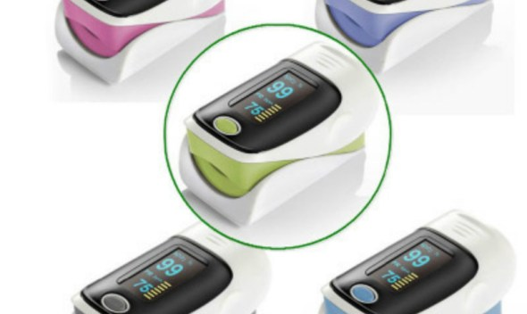 Fingertip finger Pulse Oximeter Blood Oxygen Saturation Hear Rate Monitor cardiac Detector Adult Medical Instruments Health Care