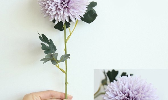 Smooth Design Latex Dandelion Flowers Artificial Simulation Flowers For Wedding Party Home Design Bouquet Decoration