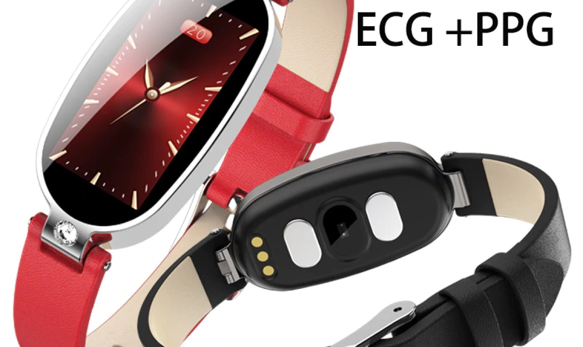 Sale NEW Smart Fitness Tracker Bracelet PPG ECG Blood Pressure Sleep Monitoring Call Remind Female B79 Color Screen Smart Watch