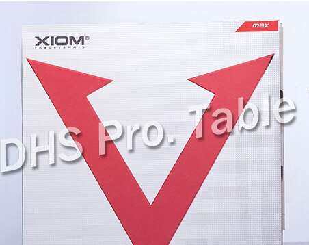 SALE Original XIOM RED VEGA ASIA Professional Table Tennis Rubber Ping Pong Rubber MAX Made in Germay Free Shipping