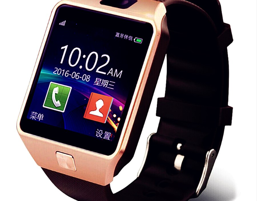Smart watch DZ09 Support TF Card SIM Sport Bluetooth Wristwatch for Android Phone smart watch with camera ios