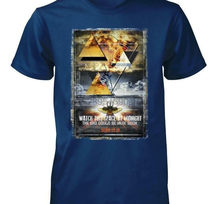 WATCH THIS SPACE GLOBAL WARMING END OF WORLD  KIDS T SHIRT 3-15 YEARS