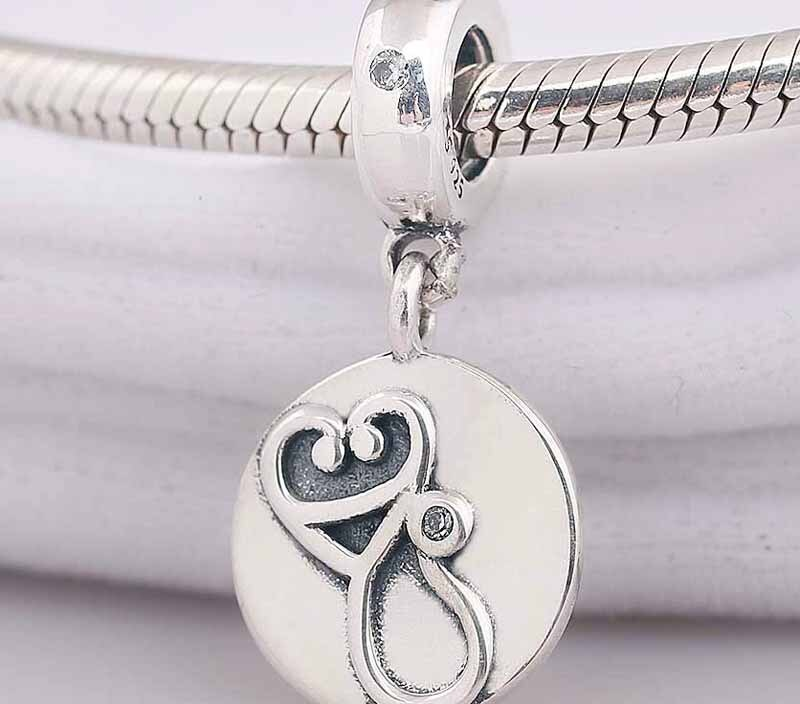 Original Medical Instruments With Crystal Pendant Beads Fit 925 Sterling Silver Bead Charm Pandora Bracelet Bangle Diy Jewelry