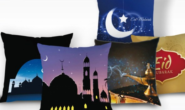 Ramadan Decoration Kareem Cushion Cover Islam Decor Eid Decoration Pillow Case Classic Mubarak Ramadan Throw Pillow Case Kissen