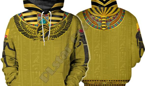 PLstar Cosmos Horus God Eye of Egypt Pharaoh Anubis Ancient Egypt Funny 3DPrint Zipper/Hoodies/Sweatshirt/Jacket/Men/Women B-15