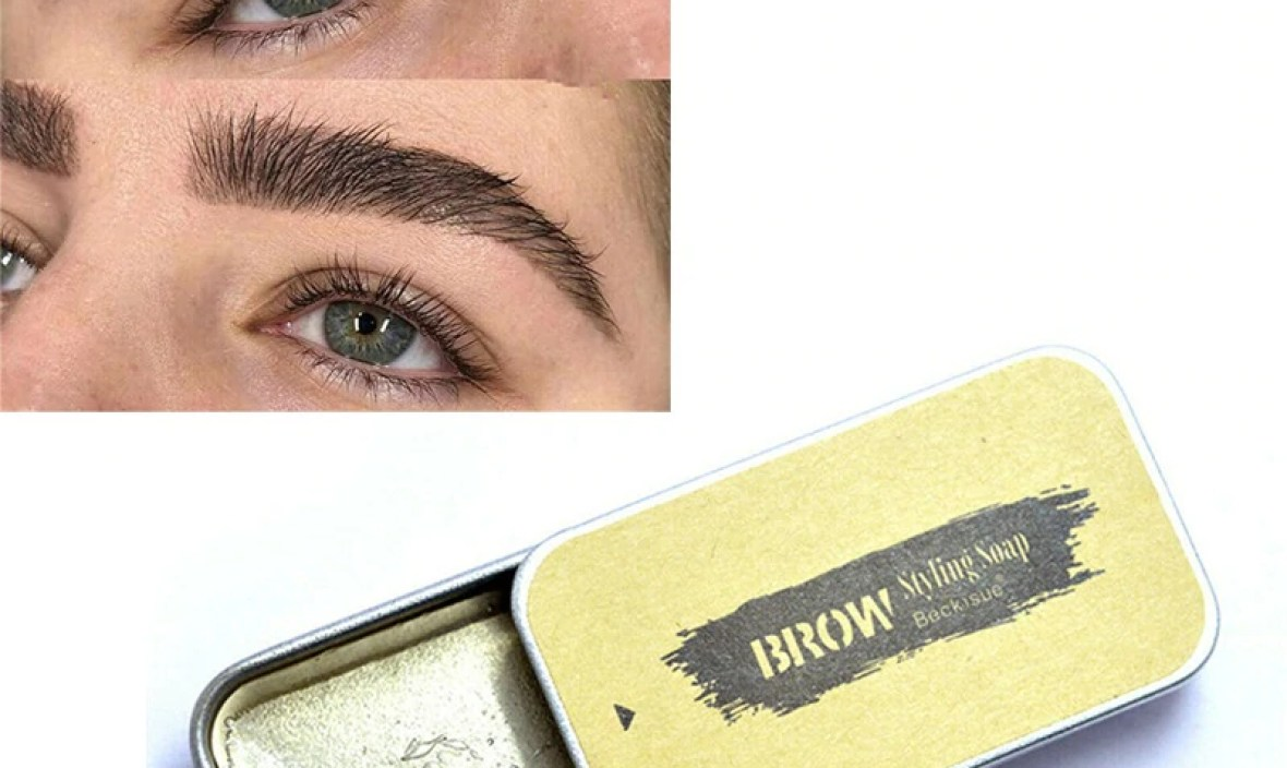 Crazy 3D Feather Brows Makeup Gel Soap Brows Kit Long Lasting Eyebrow Setting Gel Waterproof Eyebrow Tint Pomade Cosmetics