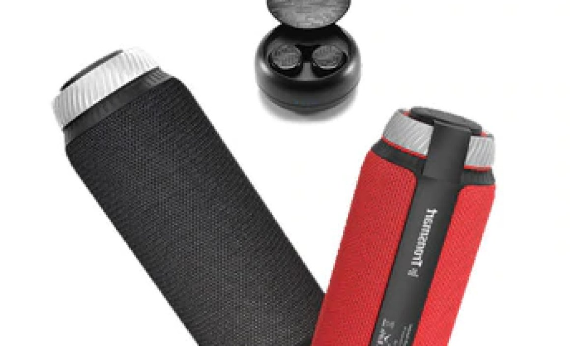 [Shipping from Russia] Tronsmart Element T6 Bluetooth Speaker Portable Speaker Subwoofer 25W Column with 15H play time
