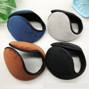 Sale Men Winter Earmuff after-Worn hu er tao Women's plus Velvet Plush Windproof Warm Earmuff Ear Warmers