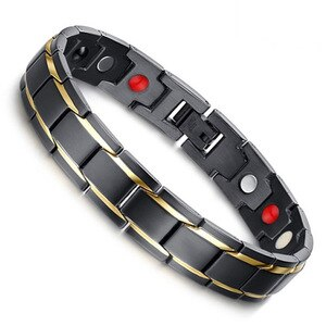 Weight Loss Body Slimming Anti-Fatigue Healing Bracelet Hematite Beads Stretch Bracelet Magnetic Therapy Bead Slim For Men Women