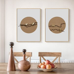 Cute The Bird Branch Pictures For Home Design Paintings For Living Room Wall Scandinavian Home Decor