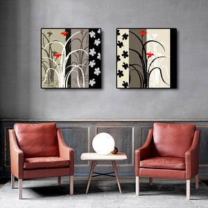 Abstract Flowers Canvas Painting Modern Home Decor Pictures For Home Design Room Decoration Nordic Posters And Prints Mural