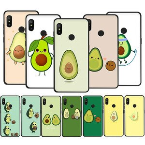 Weight loss gourmet avocado Avocado For Xiaomi Redmi Note 5 6 7 8 9 Pro Max 8T 9S 5A Prime Soft Silicone Phone Cover Case