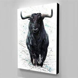 Wall Pictur Canvas Prints Animal Print Art Cow Poster Tableau Mural Poster Decorative Pictures For Home Design Paintings