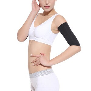 Weight Loss Shaper Elastic Compression Arm Sleeves Support Shaper Thin Arm Tennis Fitness Elbow Socks Slimming Arm  Wraps Women