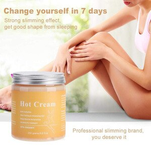 Weight Loss Cream Full Body Massager Anti Cellulite Hot Cream Fat Burner Gel Slimming Cream Massage Hot Anti-Cellulite New 250g