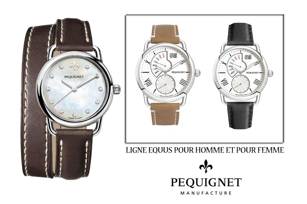 La nouvelle collection EQUUS pour les hommes et les dames soucieux d'élégance non ostentatoire et de qualité à la française.