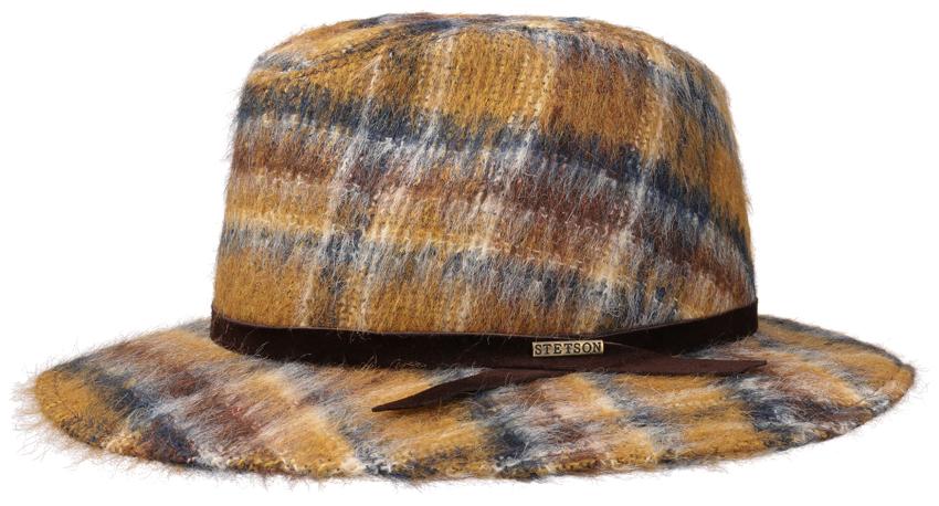 STETSON. Chapeau en alpaga et mohair, 129 €