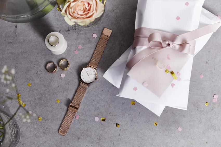Garantie deux ans, les montres Rosefield sont dotées de mouvement à quartz japonais.