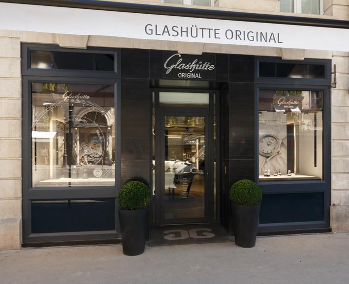 GLASHÜTTE : un nouvel écrin parisien