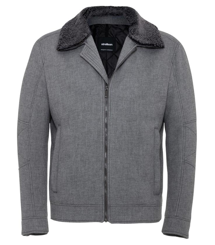 Strellson veste grise cintrée. Les collections de cette maison sont à découvrir… Chaudement recommandé par Shopping en Ville