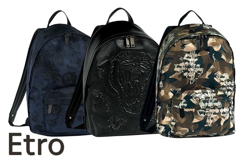ETRO c'est aller à l'essentiel avec un style sophistiqué osant les motifs.