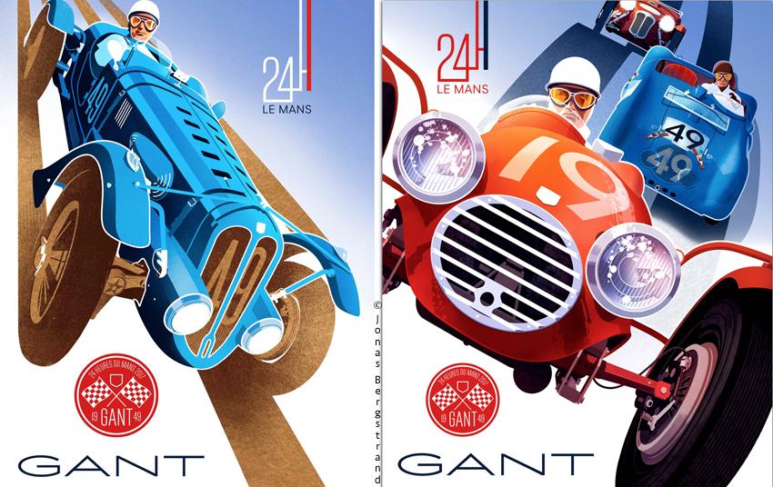ÉVÉNEMENT : lancement de la collection GANT x 24 Heures du Mans