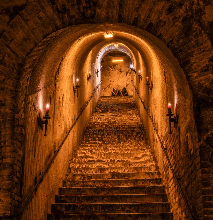 Le trésor est au bout de l'escalier…
