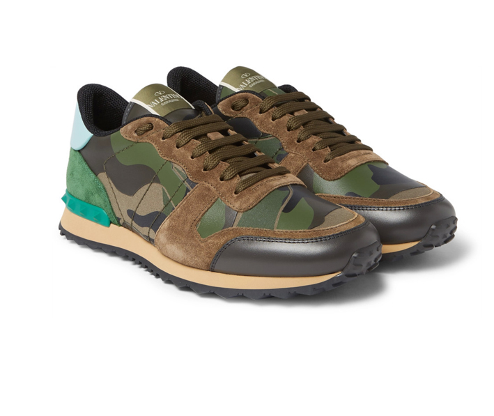 Valentino. Sneakers camouflage. Le style made in Italy.