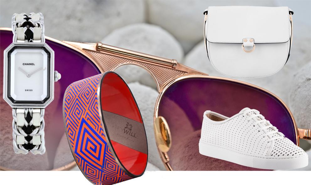 Chanel, John Dalia eyewear, Freywille, Fratelli Rossetti… pour un style French Riviera.