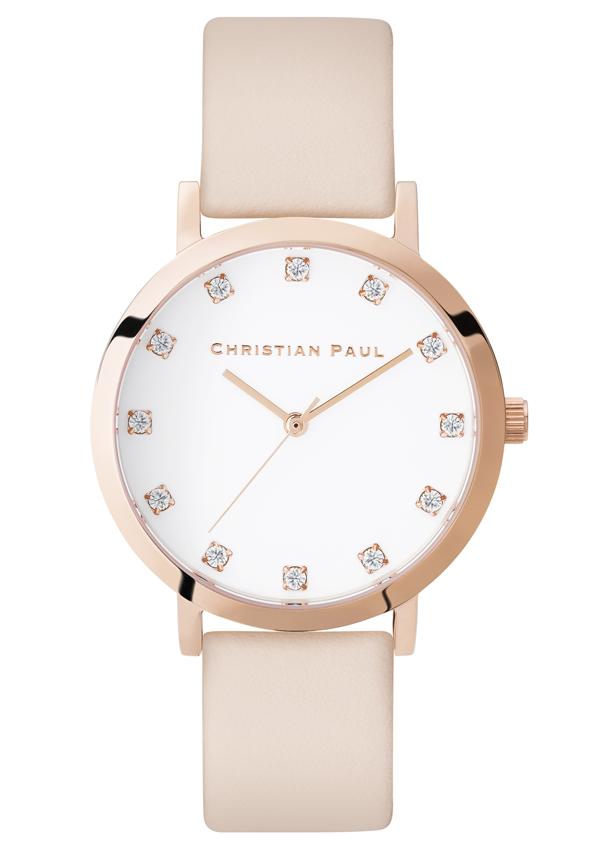 Christian Paul, la montre australienne chic et raffinée.