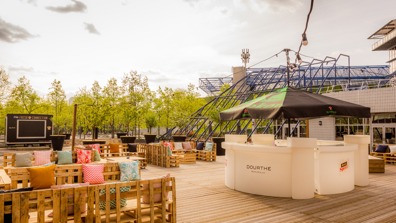 Nouveau spot parisien – La terrasse de l'été, c'est le Papa Cabane