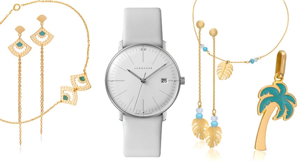 Mix and Match : notre sélection été, accessoires précieux, bijoux et montres.