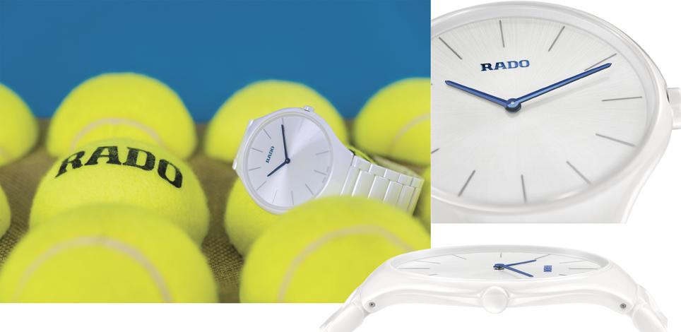 Rado True Thinline : l'horloger suisse passe à l'heure d'été sous le signe du sport, du style et de la légèreté