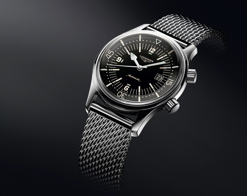 Montre de plongée : pourquoi choisir The Longines Legend Diver Watch ?