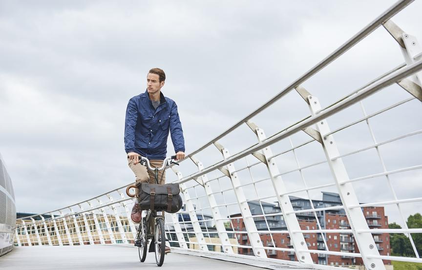 Le vélo Brompton, un vélo de poche…