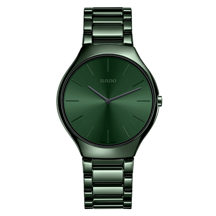 Rado, TRUE THINLINE verte.