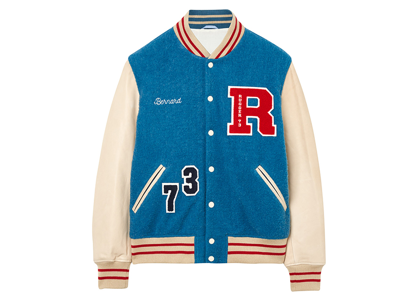 GANT, teddy « Letterman Jacket ».